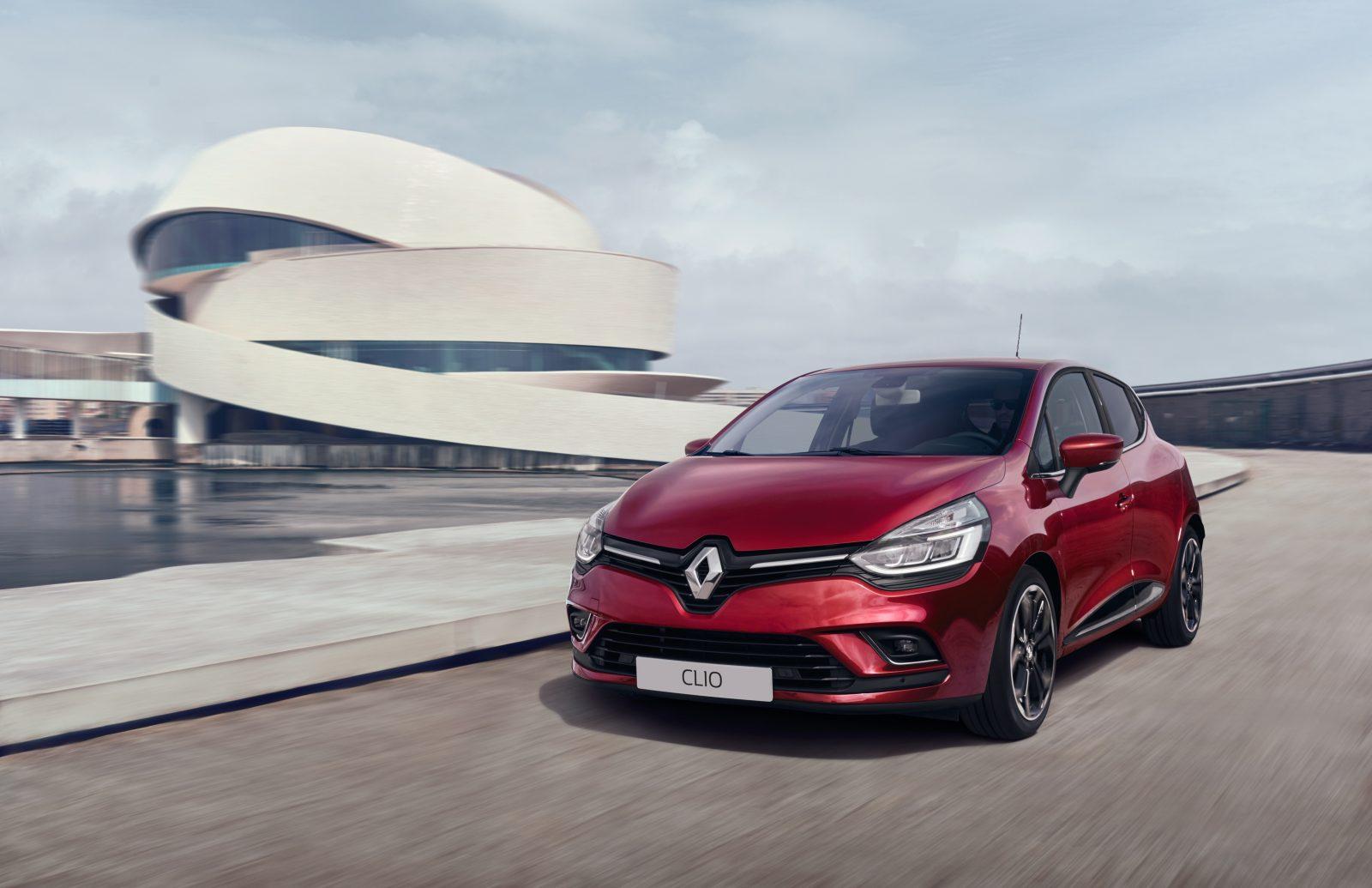 2017 Renault Clio Bestverkochte Auto Van Nederland
