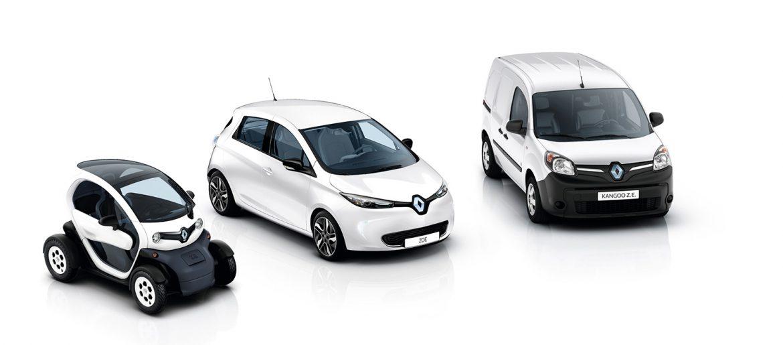 Renault Overhandigt 100 000ste Elektrische Auto