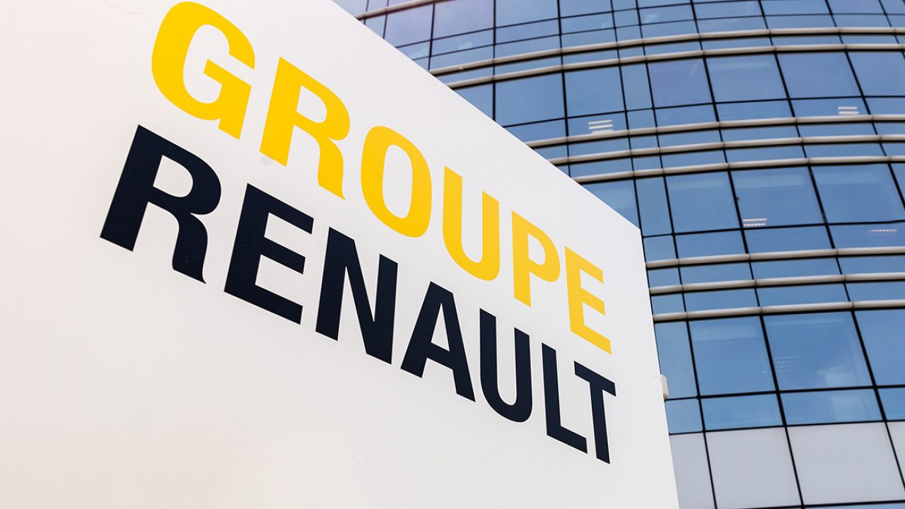 Groupe Renault sign