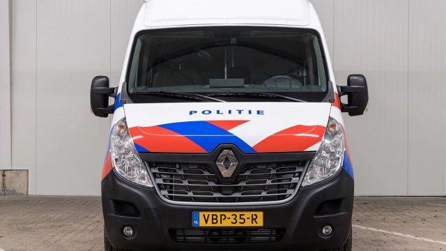Renault Master politie voor aanzicht