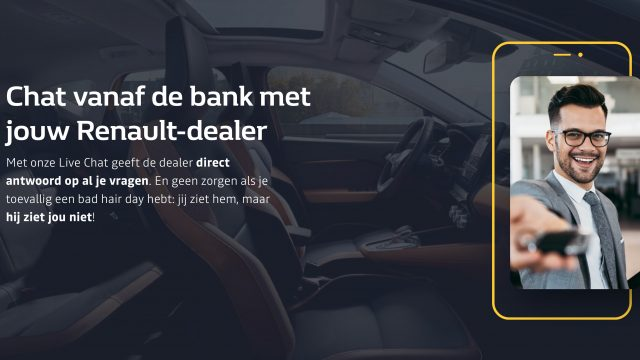 Renault en Dacia live chat