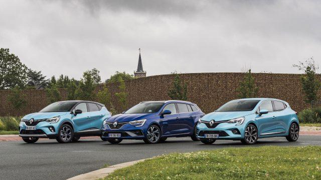 Renault CLIO E-TECH Hybrid, CAPTUR E-TECH Plug-in Hybrid en MEGANE E-TECH Plug-in Hybrid