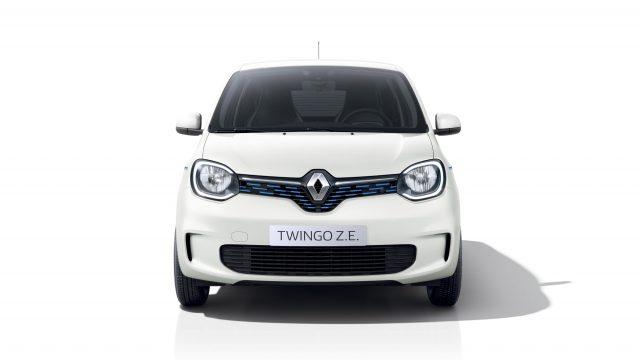 Renault TWINGO Electric voorkant studio