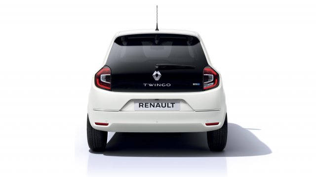 Renault TWINGO Electric achterkant studio