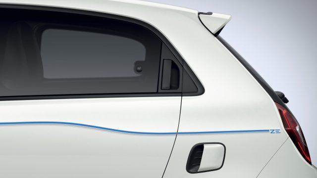 Renault TWINGO Electric detail raam