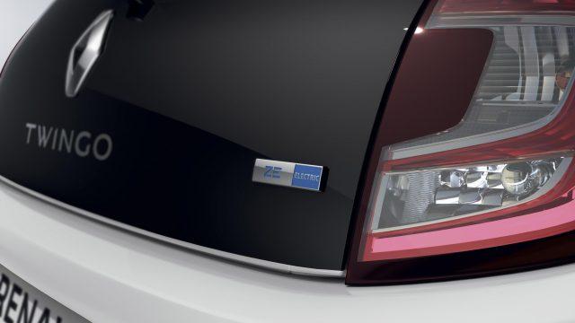 Renault TWINGO Electric detail achterkant