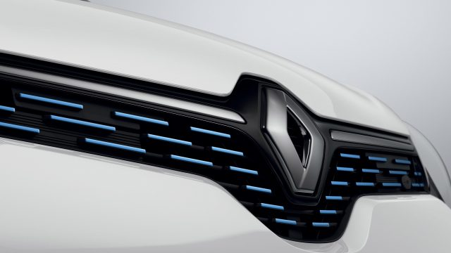 Renault TWINGO Electric detail voorkant