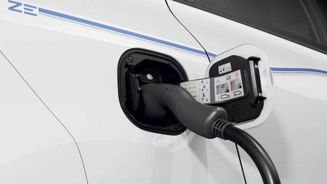 Renault TWINGO Electric detail opladen