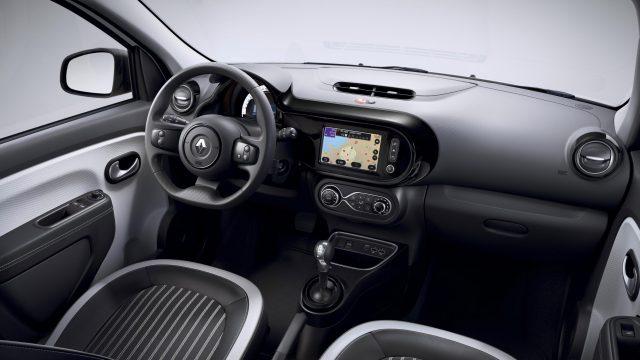 Renault TWINGO Electric interieur