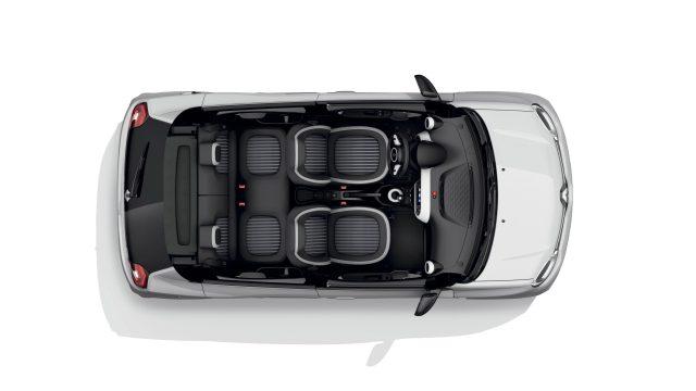 Renault TWINGO Electric bovenaanzicht