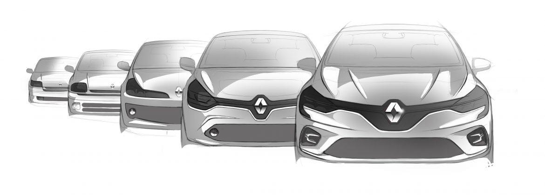 Renault CLIO viert 30-jarig jubileum