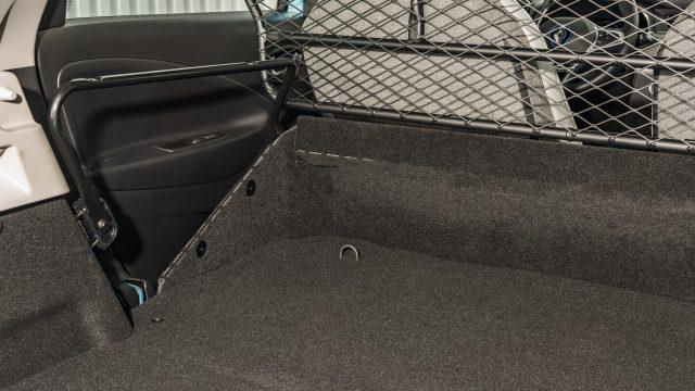 Renault ZOE Cargo bagageruimte met net