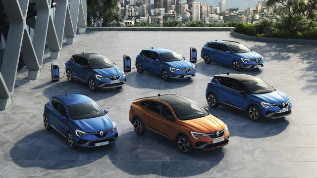 Renault ARKANA E-TECH Hybrid, CAPTUR E-TECH Hybrid en MEGANE Hatchback E-TECH Plug-in Hybrid