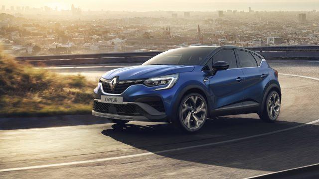 Renault CAPTUR E-TECH Hybrid driekwart voor