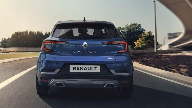 Renault CAPTUR E-TECH Hybrid achter