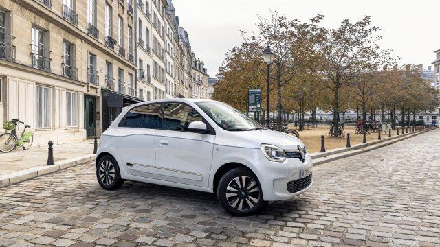 Renault TWINGO Electric schuin voor