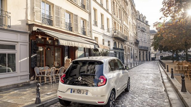 Renault TWINGO Electric achter