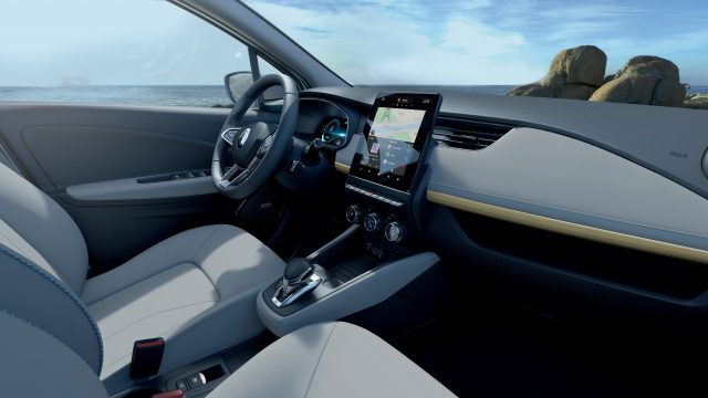 Interieur Renault ZOE Riviera Limited Edition
