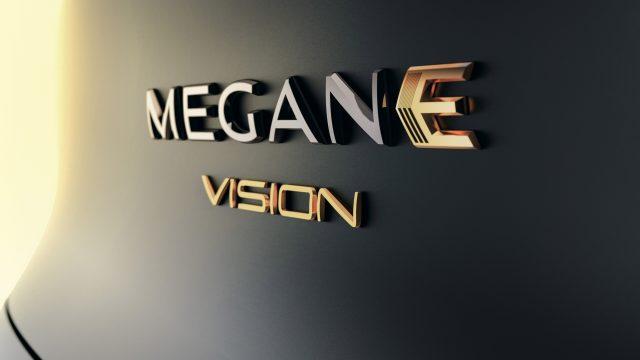 Renault MEGANE eVISION detail logo