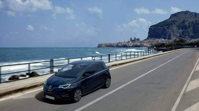 Zwarte Renault ZOE Riviera Limited Edition