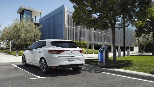 Renault MEGANE Hatchback E-TECH Plug-in driekwart achter