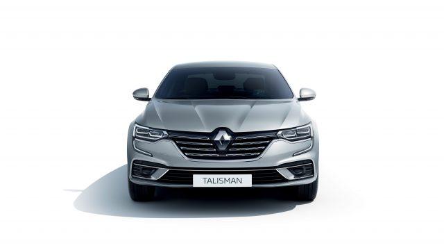 Grijze Renault Talisman voor