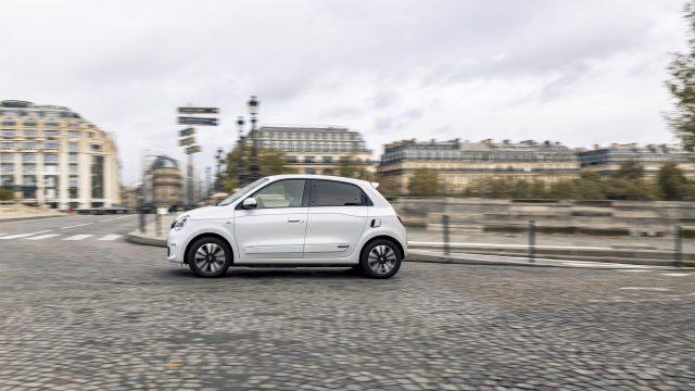 Renault TWINGO Electric zijkant