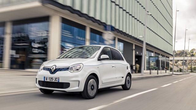 Renault TWINGO Electric schuinvoor