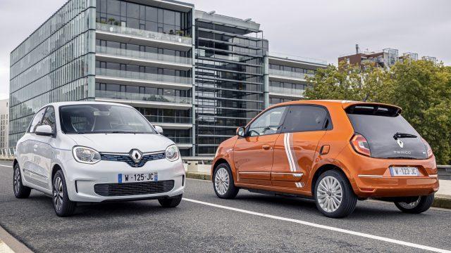 Renault TWINGO Electric voor en achter