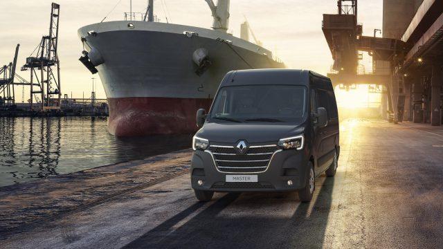 Renault Master Work Edition driekwart voor
