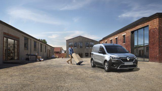 Renault KANGOO Van driekwart voor