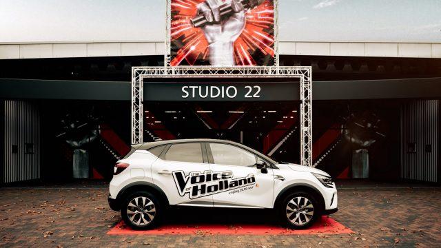 Renault CAPTUR E-TECH Plug-in Hybrid voor de studio